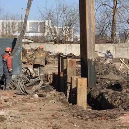 ЖК Дом на набережной, строительная готовность март 2016