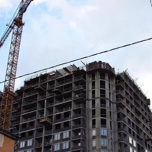 ЖК Дом на набережной, ход строительства, стройка, комплекс, новостройка, жилой, новый, дата октябрь 2017