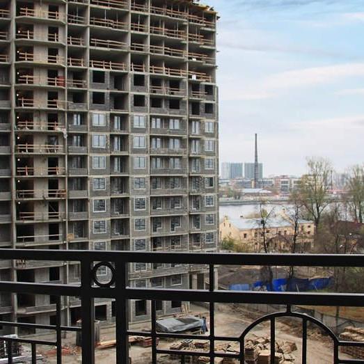 ЖК Дом на набережной, ход строительства, стройка, комплекс, новостройка октябрь